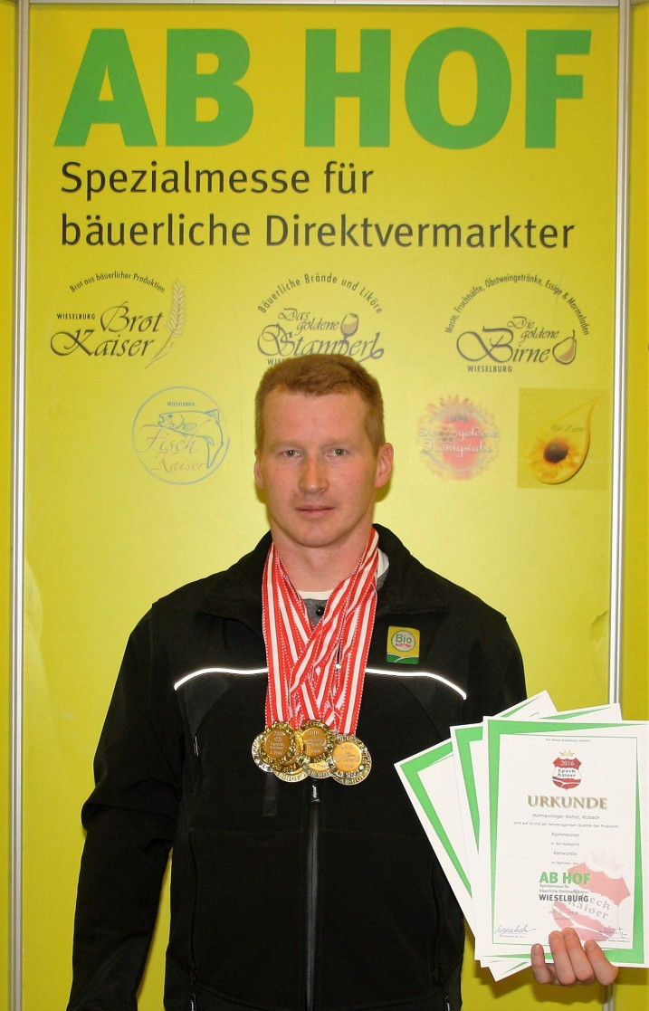 Prämierung 2016 - Hofmanninger Walter